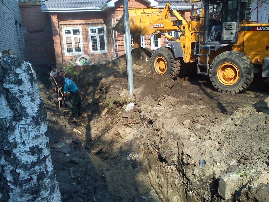 Капитальный ремонт участка тепловых сетей (дет. дом №2)