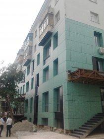 Завершены работы: Штукатурка фасадов здания по ул. Республики, 28а