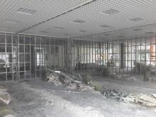 Завершены демонтажные работы перегородок из ГКЛ