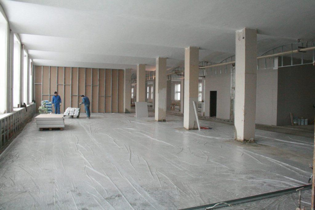 ремонт нежилых помещений