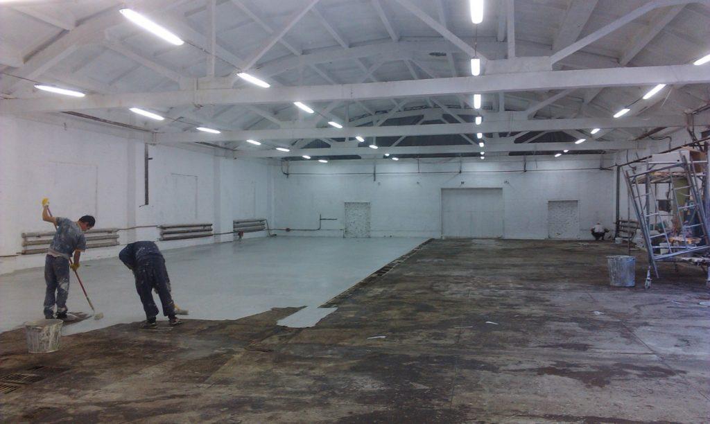 ремонт складских помещений