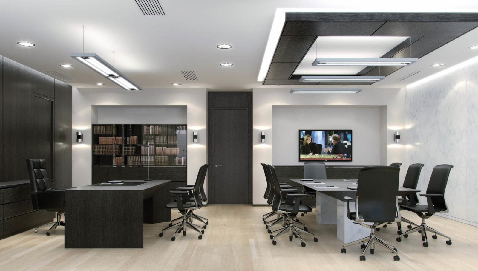 современный ремонт офиса