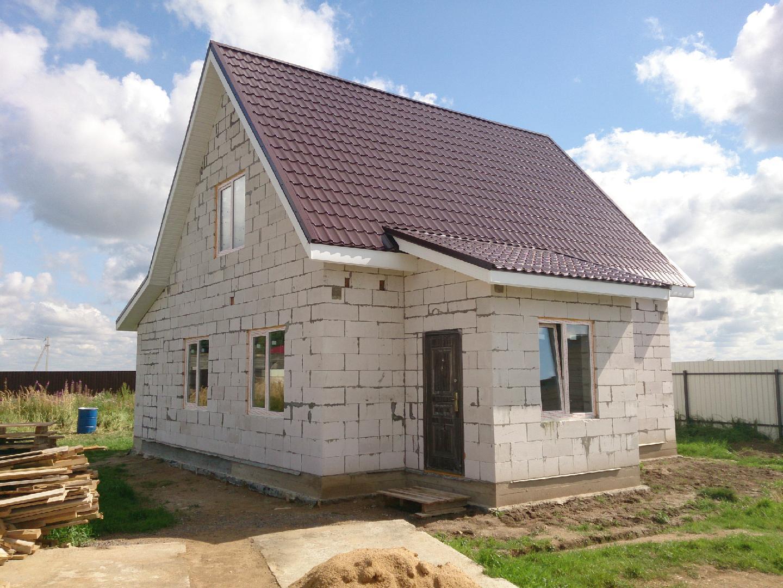 строительство дома из пеноблока в Тюмени