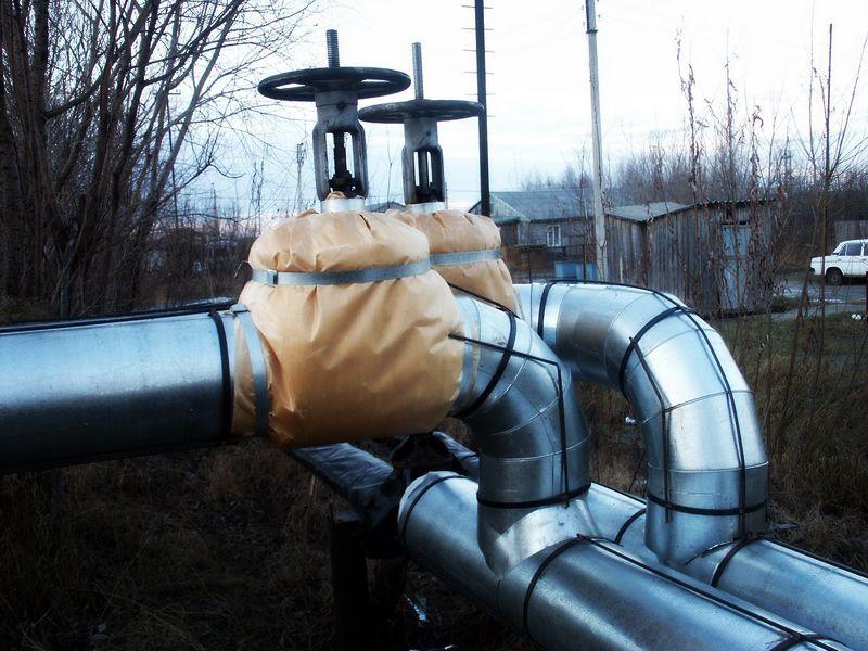 наружная тепловая изоляция трубопроводов