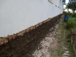 Ремонт цоколя здания